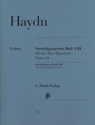 HAYDN - String quartets volume VIII, op. 64 Second Tost Quartets - Partition - di-arezzo.com