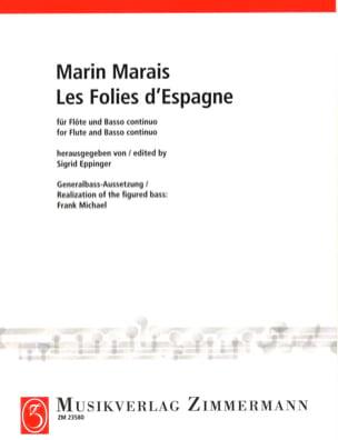 Les Folies d' Espagne Marin Marais Partition laflutedepan