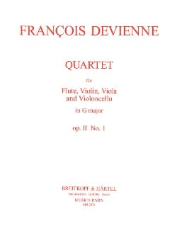 Quartet in G major op. 11 n° 1 -Flute String trio - Parts laflutedepan