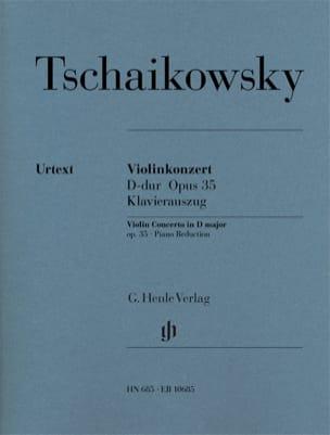 Violinkonzert D-Dur op. 35 TCHAIKOVSKY Partition Violon - laflutedepan