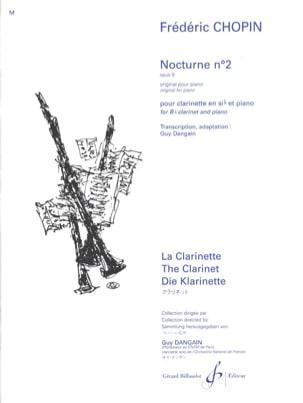 Nocturne Opus 9, n° 2 CHOPIN Partition Clarinette - laflutedepan