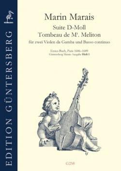 Suite en ré mineur / Tombeau de Mr Meliton - 2 violes de gambe et Basse continue laflutedepan