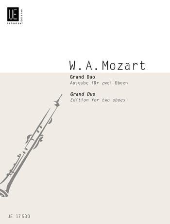 Grand Duo - 2 Oboen - MOZART - Partition - Hautbois - laflutedepan.com