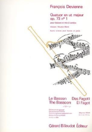 Quatuor en ut majeur op. 73 n° 1 -Basson trio à cordes - laflutedepan.com