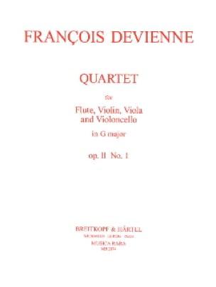 Quartet in G major op. 11 n° 1 -Flute String trio - Parts - laflutedepan.com