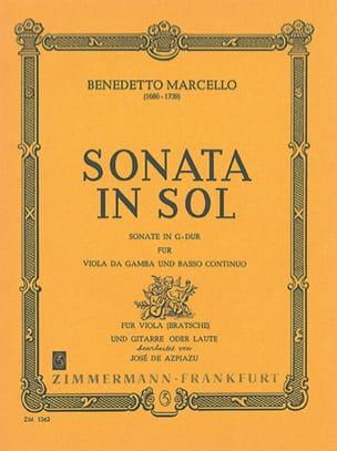 Sonata in Sol für Viola und Gitarre Benedetto Marcello laflutedepan