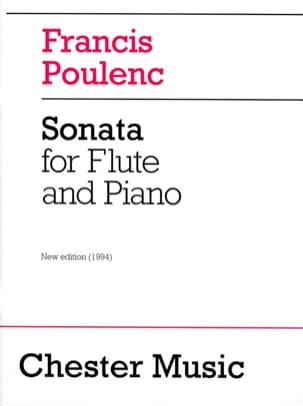 Sonate POULENC Partition Flûte traversière - laflutedepan