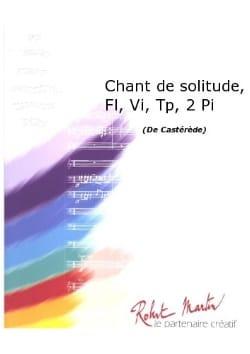 Chant De Solitude - 2 Pianos-Trompettes-Flûtes-Violons laflutedepan