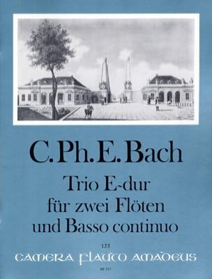 Trio Sonate Mi Majeur Wq 162 Carl Philipp Emanuel Bach laflutedepan