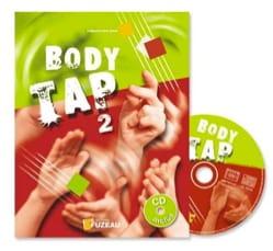 Body Tap Vol 2 Guillaume Saint-James Partition Solfèges - laflutedepan