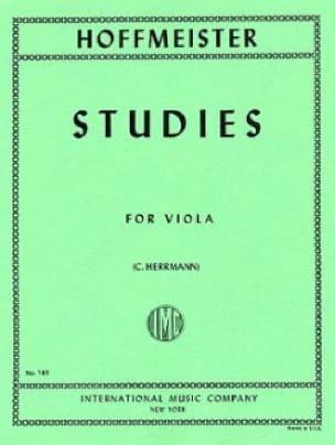 Studies for Viola - HOFFMEISTER - Partition - Alto - laflutedepan.com