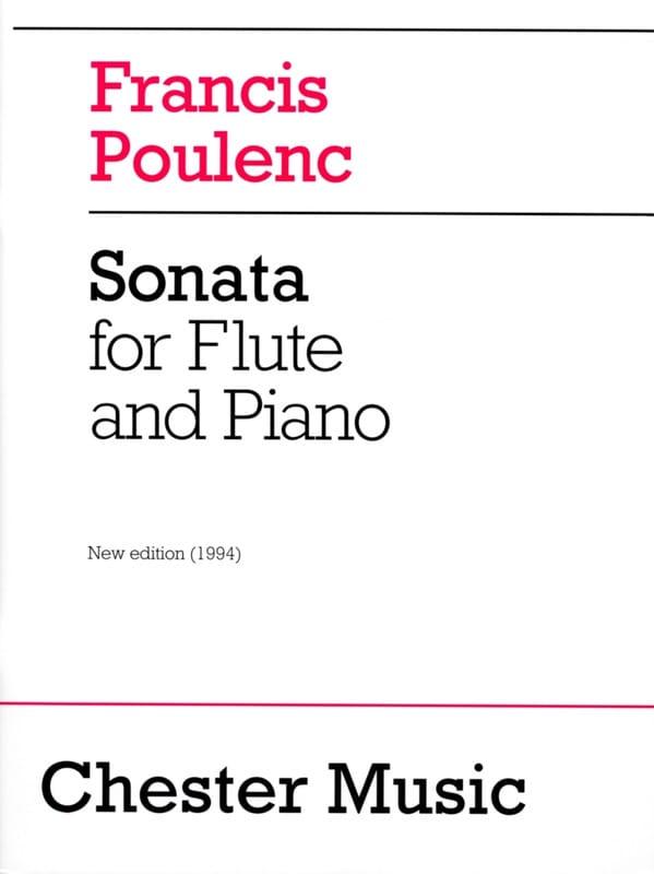 Sonate - POULENC - Partition - Flûte traversière - laflutedepan.com