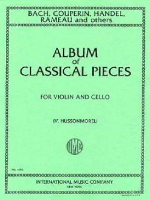 Album of classical pieces - Violin cello - laflutedepan.com