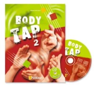 Body Tap Vol 2 - Guillaume Saint-James - Partition - laflutedepan.com