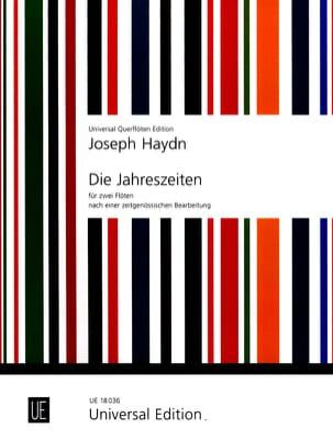 Die Jahreszeiten Les Saisons - 2 Flöten HAYDN Partition laflutedepan