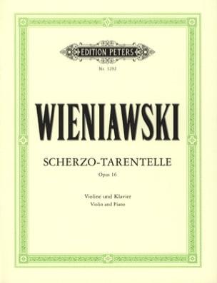 WIENIAWSKI - Scherzo-Tarentella op. 16 - Partition - di-arezzo.com