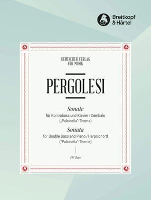 Sonate sur le thème de Pulcinella PERGOLESE Partition laflutedepan