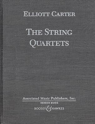 Les 5 Quatuors à Cordes Elliott Carter Partition laflutedepan