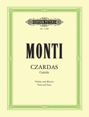 Czardas Vittorio Monti Partition Violon - laflutedepan