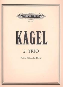 Deuxième Trio - Violon, Violoncelle et piano laflutedepan