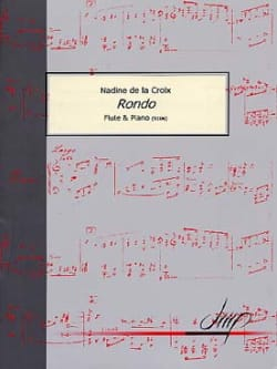 Rondo - la Croix Nadine De - Partition - laflutedepan.com