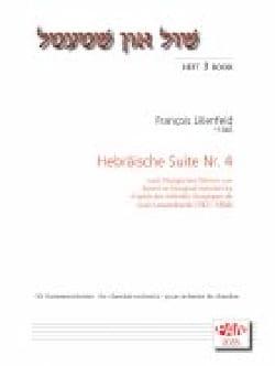 Hebräische Suite Nr. 4 François Lilienfeld Partition laflutedepan