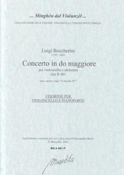 Concerto en Do Majeur - Violoncelle et piano - laflutedepan.com