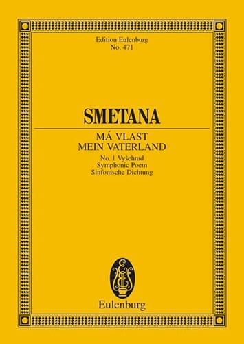 Vysehrad - SMETANA - Partition - Petit format - laflutedepan.com