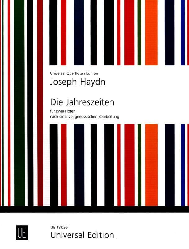 Die Jahreszeiten Les Saisons - 2 Flöten - HAYDN - laflutedepan.com
