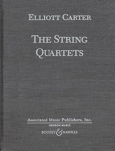 Les 5 Quatuors à Cordes - Elliott Carter - laflutedepan.com