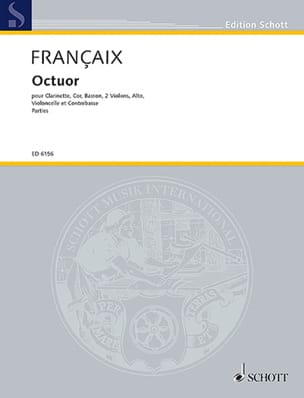 Oktett Octuor- Parties - Clarinette-Cor-Basson-2 Violons-Alto-Cello-Cbasse laflutedepan