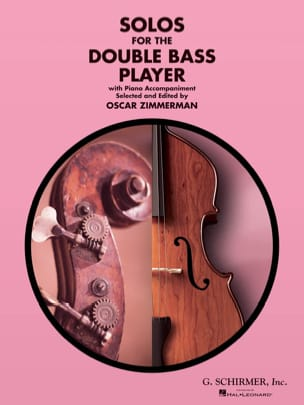 Oscar Zimmerman - Solos for the double bass player - Partition - di-arezzo.com