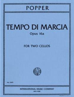 Tempo di Marcia op. 16a - 2 Cellos - David Popper - laflutedepan.com