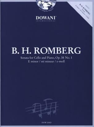 Sonate op. 38 n°1 en mi mineur ROMBERG Partition laflutedepan