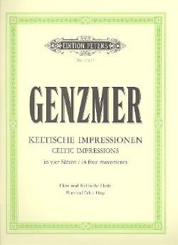 Impressions Celtiques Harald Genzmer Partition Duos - laflutedepan