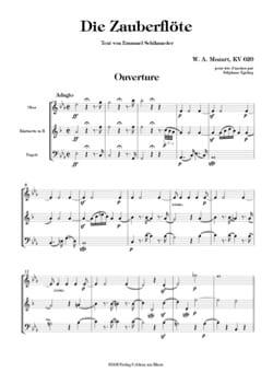Die Zauberflöte Ouverture - Trio d'anches MOZART laflutedepan