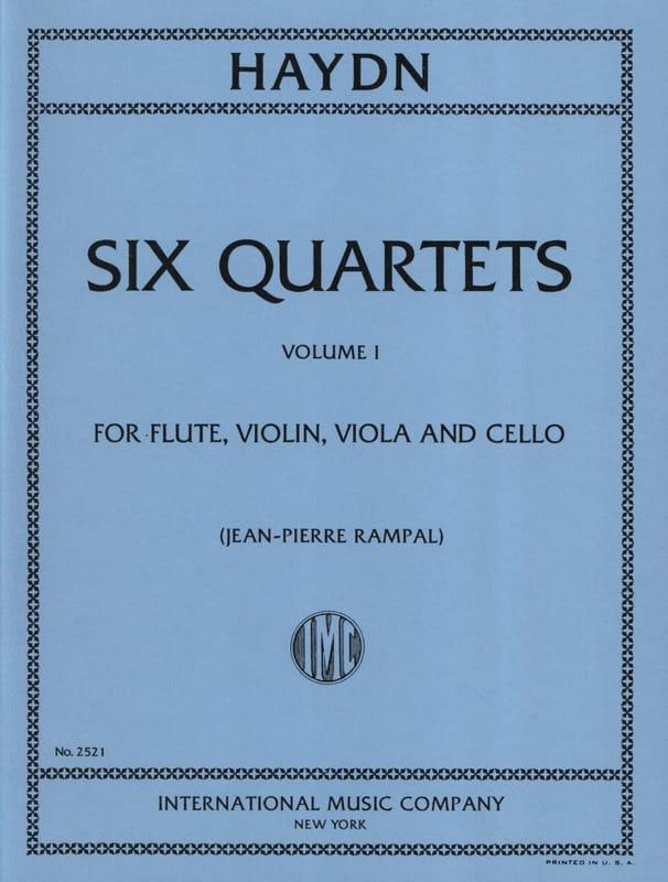 6 Quartets Volume 1 - Flute violin viola cello - Parts - laflutedepan.com