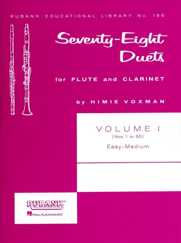 78 Duets - Volume 1 - Partition - Duos - laflutedepan.com
