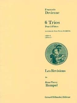 6 Trios Cahier 2 - 3 Flûtes DEVIENNE Partition laflutedepan