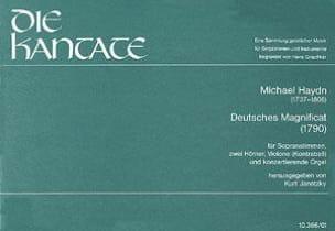 Deutsches Magnificat Richte dich auf -partitur laflutedepan
