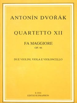 String quartet n° 12 in F major op. 96 - Partitur - laflutedepan.com