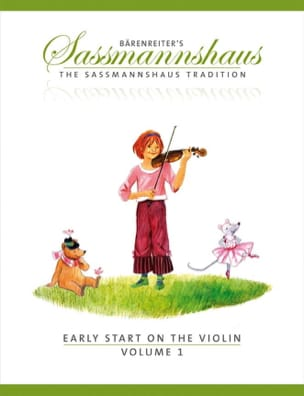 Egon Sassmannshaus - Early Start On The Violin Volume 1 - Partition - di-arezzo.co.uk