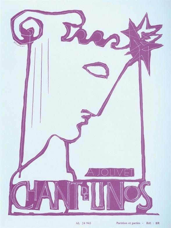 Chant de Linos - Flûte, trio à cordes et harpe ou piano - laflutedepan.com