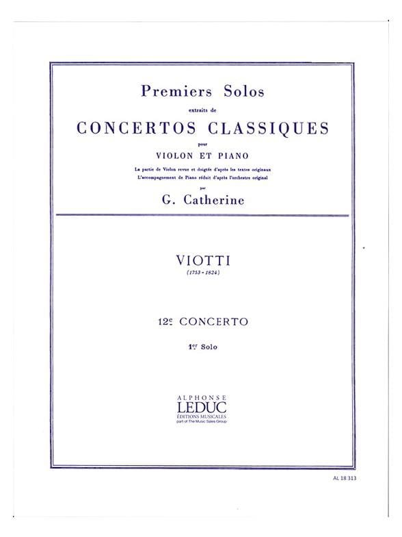 1er solo du Concerto n° 12 - laflutedepan.com