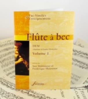 Flûte à bec, DEM - Volume 1 - laflutedepan.com