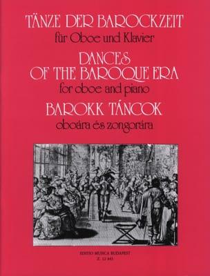 Tänze der Barockzeit -Oboe Klavier Oliver Nagy Partition laflutedepan