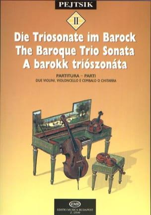 The Baroque Trio Sonata - String Trio Arpad Pejtsik laflutedepan
