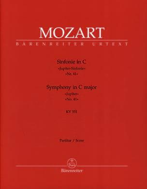 Symphonie Nr. 41 C-Dur KV 551 Jupiter - Partitur MOZART laflutedepan