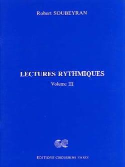 Lectures Rythmiques Volume 3 Robert Soubeyran Partition laflutedepan