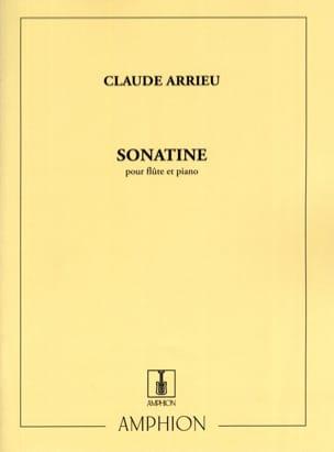 Sonatine Claude Arrieu Partition Flûte traversière - laflutedepan